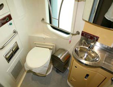 Bathroom on Train