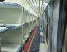 Hard Sleeper Berth Train