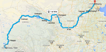 Lhasa to Beijing Train Travel Guide