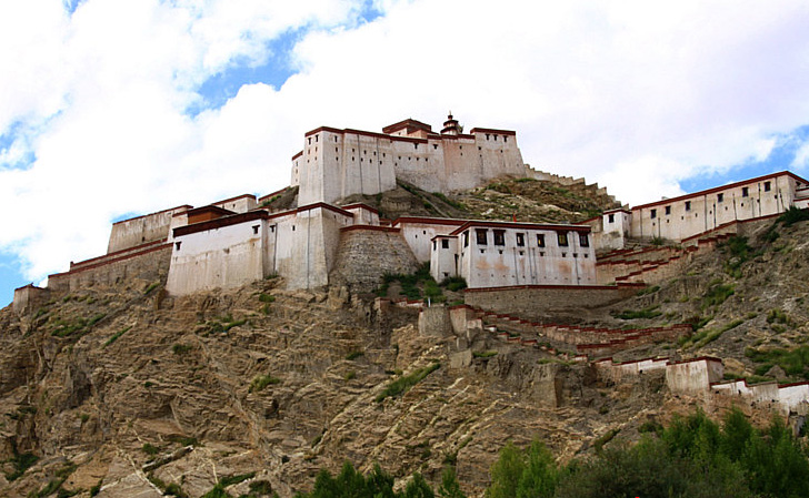 Gyangze ancient castle